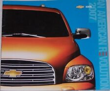 2007 07 Chevy HHR original sales brochure MINT