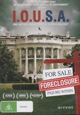 I.O.U.S.A. DVD - Debt Issues, Wall Street Collapse, World Economy, Globalisation