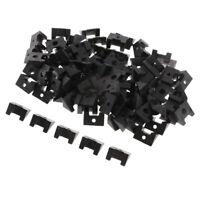 Portafoto in plastica trasparente da 100 pezzi con pulsanti rotanti per