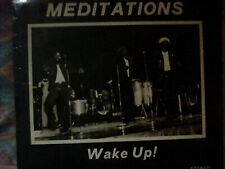 The Meditations, wake up! lp,vg-/vg