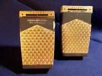 TWO 1960 GENERAL ELECTRIC 8300 TRANSISTOR RADIOS  ONE PLAYS AND ONE DISPLAYS