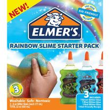 ELMERS RAINBOW SLIME - 2022911 - STARTER PACK - 3 x 6oz