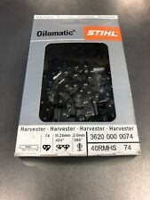 STIHL HARVESTER CHAIN 74D  CASE LOT (11)