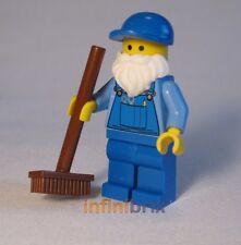Lego gardien de set 10224 town hall balai/aspirateur-figurine neuf twn160