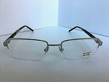 New MONTBLANC MB 581 A16 Silver 55mm Semi-Rimless Men's Eyeglasses Frame