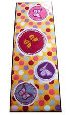 Waschbare Fußmatte Schmutzfangmatte SALONLOEWE Gelb/Bunt 60 x 180 cm Läufer