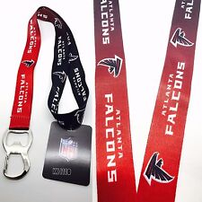 NFL Atlanta Falcons Keychain & Bottle Opener Lanyard