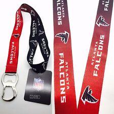 NFL Atlanta Falcons Keychain & Bottle Opener Lanyard