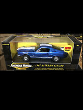 1967 Mustang Shelby GT350 BLUE 1:18 Ertl American Muscle 33275