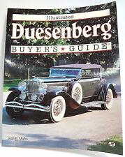 Duesenberg Buyers Guide by Josh B Malks - Auburn EL Cord SJ SSJ Augie Speedster