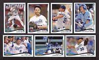 2014 Topps KANSAS CITY ROYALS Team Set 1 & 2 with Update 27 Cards NM/MT & MINT