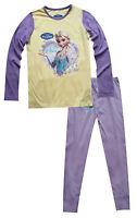 Filles Enfants Disney Anna/Elsa La Reine Des Neiges Noir Pyjama Pyjama 3-4 ans,