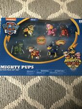 Paw Patrol Mighty Pups Action Pack Gift Set Walmart Exclusive Spin Master New