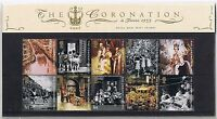 GB Presentation Pack 347 2003 The Coronation 50 years 10% OFF 5