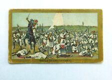 American Tobacco Company Cigarette Card c.1901 Battle Scenes Omdurman
