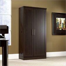 Sauder Homeplus Storage Cabinet Dakota Oak