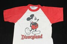 New listing Vtg 90s Mickey Mouse Disneyland White Red Ringer Style Womens Small