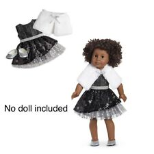 American Girl Black Sparkle Holiday Dress Outfit 👗. New