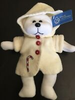 2001 Collectible Beanie Teddy Bear SWEETY PLUSHLAND March of Dimes Candy Holiday