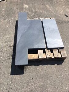 Bespoke Welsh slate fire hearths. BUY IT NOW price is for a sample.