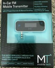 Mobile Tech In-Car FM Mobile Transmitter