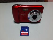 Vivitar Vivicam XX14 20.1MP Selfie Cam Digital Camera Used Excellent Condition