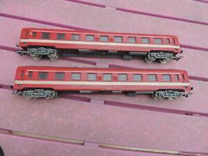 wagon voyageur rouge 1é classe capitole marque jouef