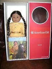 "AMERICAN GIRL HISTORICAL DOLL 18"" KAYA & Paperback Book NIB Free Shipping"