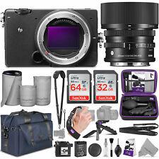 Sigma Fp Mirrorless Digital Camera /w 45mm Lens and Altura Photo Complete Bundle