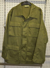 New combat shirt green canadian size large ( bte#78 )