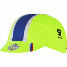 SAXO TINKOFF PRO CYCLING BIKE HAT CAP - Fixed Gear - Made in Italy - Yellow