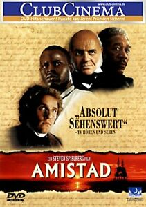 Amistad (Morgan Freeman + Anthony Hopkins) # DVD-NEU