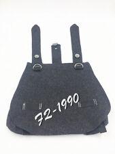 WW2 WWII Military German Army Bread Bag Wool Woolen Grey-S-00088