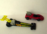 Mattel Hot Wheels 1993 Dragster and 1994 Special Promo Red Racecar Lot of 2