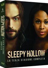 SLEEPY HOLLOW - STAGIONE 3 (5 DVD) COFANETTO NUOVO, ITALIANO, ORIGINALE