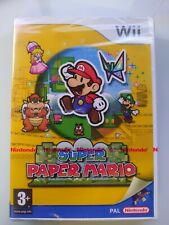 Super Paper Mario Nintendo Wii / Brand NEW SEALED red strip UK Version