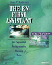 El primer asistente rn: un papel enfermería Perioperatoria ampliado por Jane C...