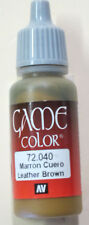 Vallejo Game Color Paint: 17ml  Cobra Leather  72040