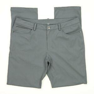 "Lululemon ABC Pant Classic *34"" Men's Size 36 X 34  Warpstreme - Gray"