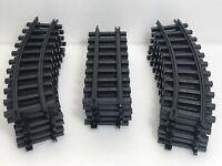 18 Scientific Toys Kool Toyz G Scale Curved-Straight Train Tracks Plastic 1996