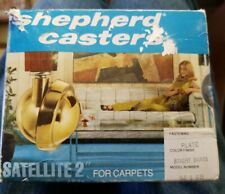 Shepherd Brass Casters Vintage New Old Stock Set Of 4