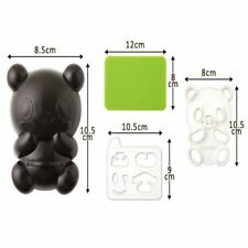 Japanese Bento Accessories Cute Baby Panda Shape Rice Mold & Seaweed Nori Cutter