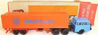 Deutrans Camion Orange Tatra Budamobil Tt 1:120 Emballage D'Origine # Uh Å