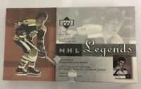 2001-02 Upper Deck Legends Factory Sealed Hobby Hockey Box