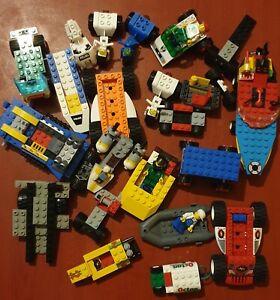 Lego vehicle bundle lot parts, car, boats etc mixed