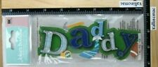 Jolee's DADDY TITLE 3D Boutique Stickers 3D FATHER'S DAY DAD