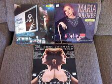 MARIA DOLORES PRADERA - LOTE 4 X LP - VINILO - VINYL - EDICION ESPAÑOLA ORIGINAL