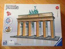 RAVENSBURGER 3D PUZZLE BRANDENBURGER TOR WNEU TOP 12551 324 Teile BERLIN Premium