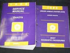 1996 Dodge Dakota Truck Shop Manual 2pcs