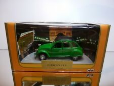 POLISTIL SG2 CITROEN 2 CV 2CV - GREEN 1:25 - GOOD CONDITION IN BOX